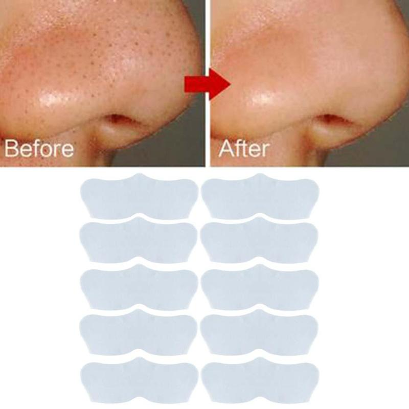 10pcs Face Skin Care Nose Sticke Remove Blackhead Acne Remover Mask Clear Black Head 3 Step Kit Deep Nose Pore Cleasing Strips 5