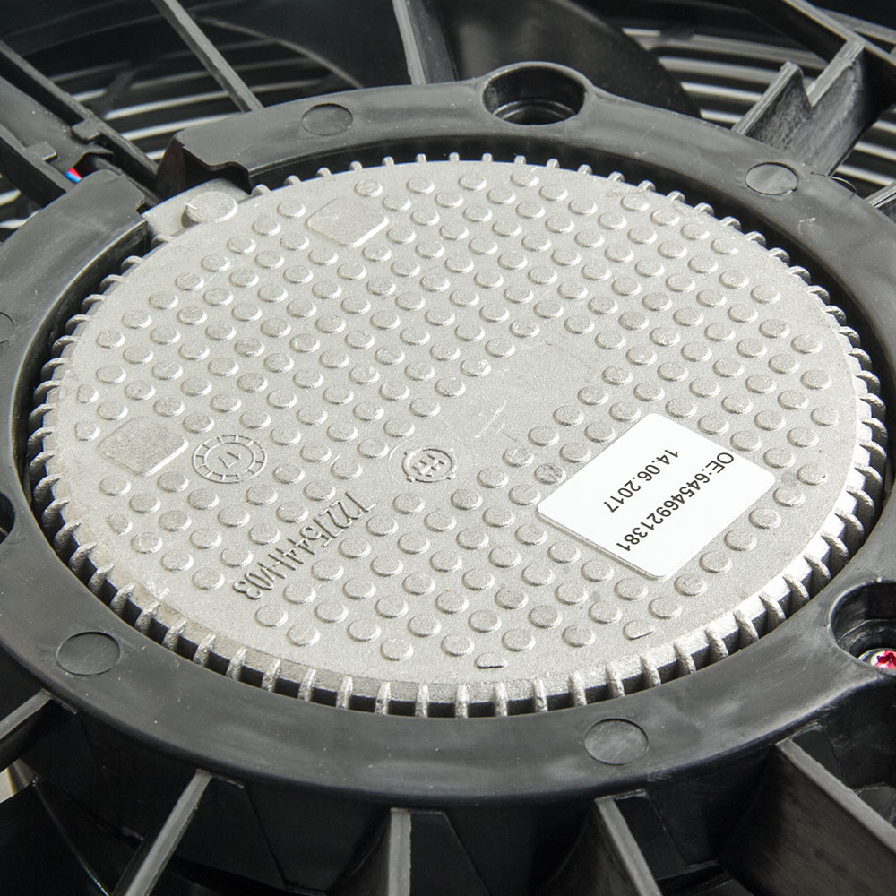 A/C AC Kühler Kondensator Kühlung Drücker Fan 5 Klingen für BMW X5 E53 00 06 E53 Serie 64546921381 für 3,0 4,4 4,6 - 6