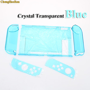 Image 2 - Hard PC Protection Cover For Nintend Switch NS NX Case Transparent Crystal Shell Console Controller Accessories With Stand Cases