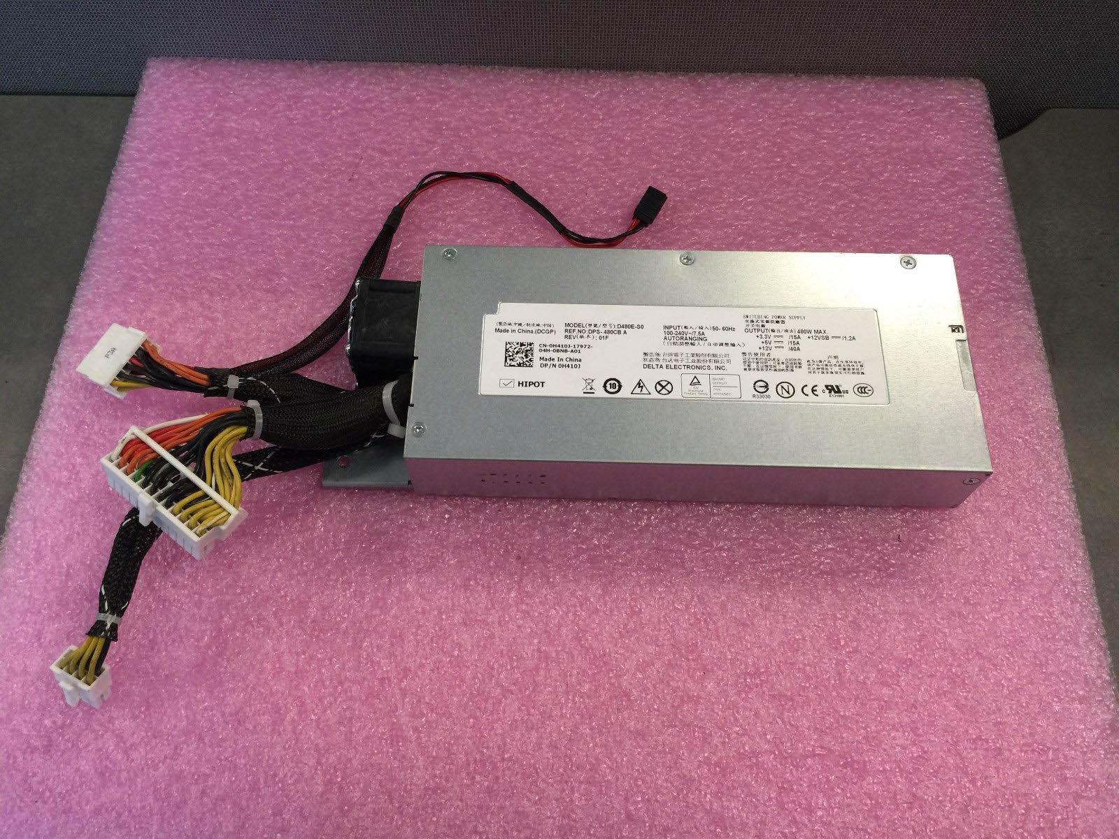 100% Working Desktop For R410 D480E-S0 L480E-S0 0H411J PS-4481-1D-LF 480W Power Supply Full Test