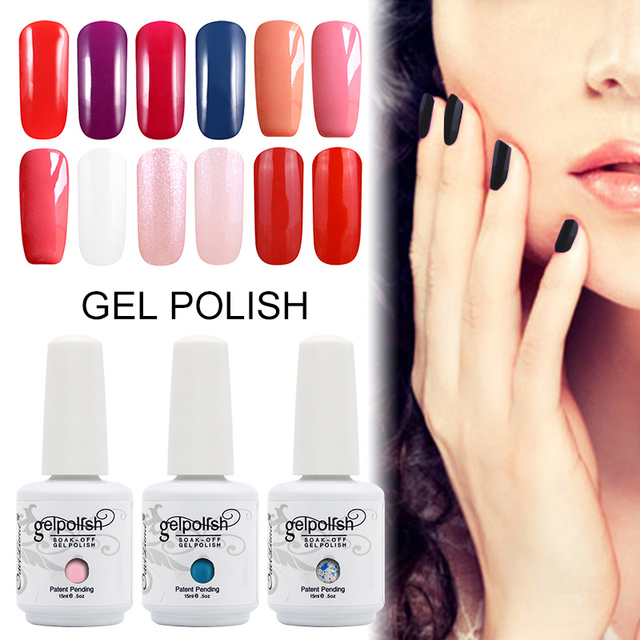 Saviland 1pcs Gel Varnish 15ml Gel polish Nail Lacquer Esmalte ...