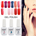 Saviland 1pcs Gel Varnish 15ml Gelpolish Nail Lacquer Esmalte Permanente Vernis Gel UV Lamp Soak Off Nail Polish