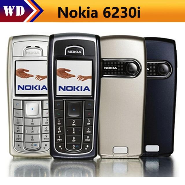 NOKIA 6230i Mobile Cell Phone GSM TRIBAND Unlocked Original 6230i Refurbished Free shipping
