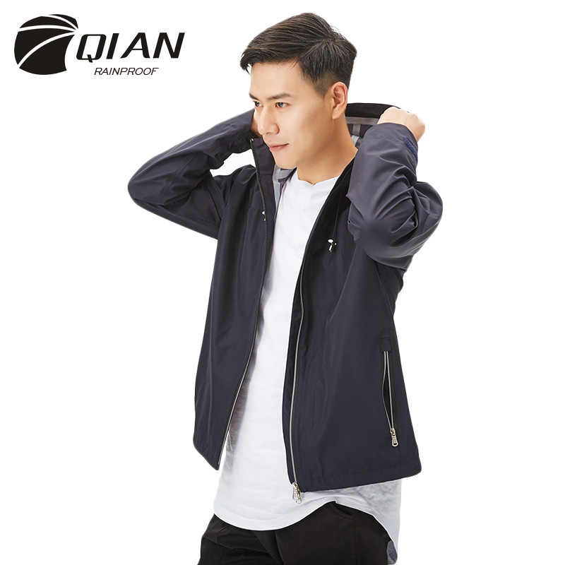 QIAN Impermeable lluvia Poncho al aire libre Impermeable mujeres/hombres lluvia chaqueta motocicleta Impermeable lluvia engranaje de lluvia
