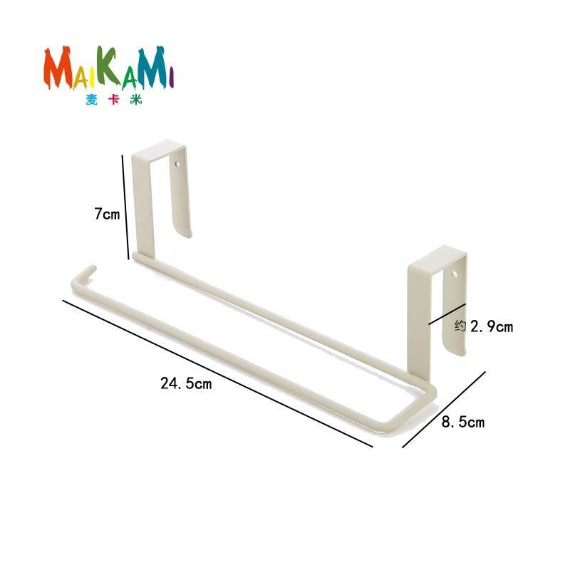 Hook Type Kitchen Roll Paper Towel Holder Storage Rack Sundries Organizer Home Storage Tools Cabinet Cupboard Tissue Shelf