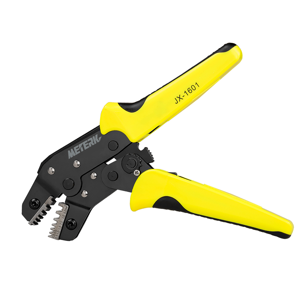0.25-6 mm2 Wire Crimper multi tool Engineering Ratchet Terminal Crimping Plier Bootlace Ferrule Crimping Tool Cord End Terminals