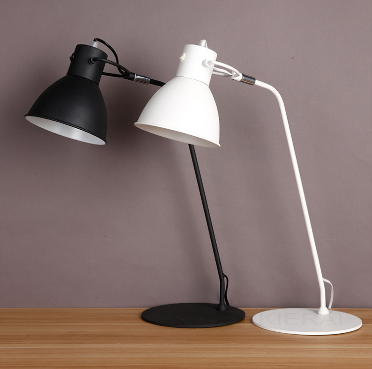 New Novel Led Table Lamp 520mm Modern Industrial lamp Loft lamp for reading Study desk Lamp Bedside lamp Night Light yage desk lamp book reading night light colorful lamp for study non limit brightness 34pcs led 3 modes lamp eu usa uk plug