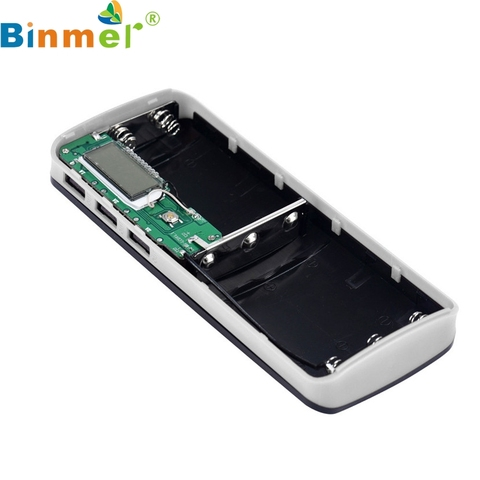 E5 Mecall Tech 3 USB Ports 5V 2A 5x18650 Power Bank Battery Box Charger For iPhone 6s Multan