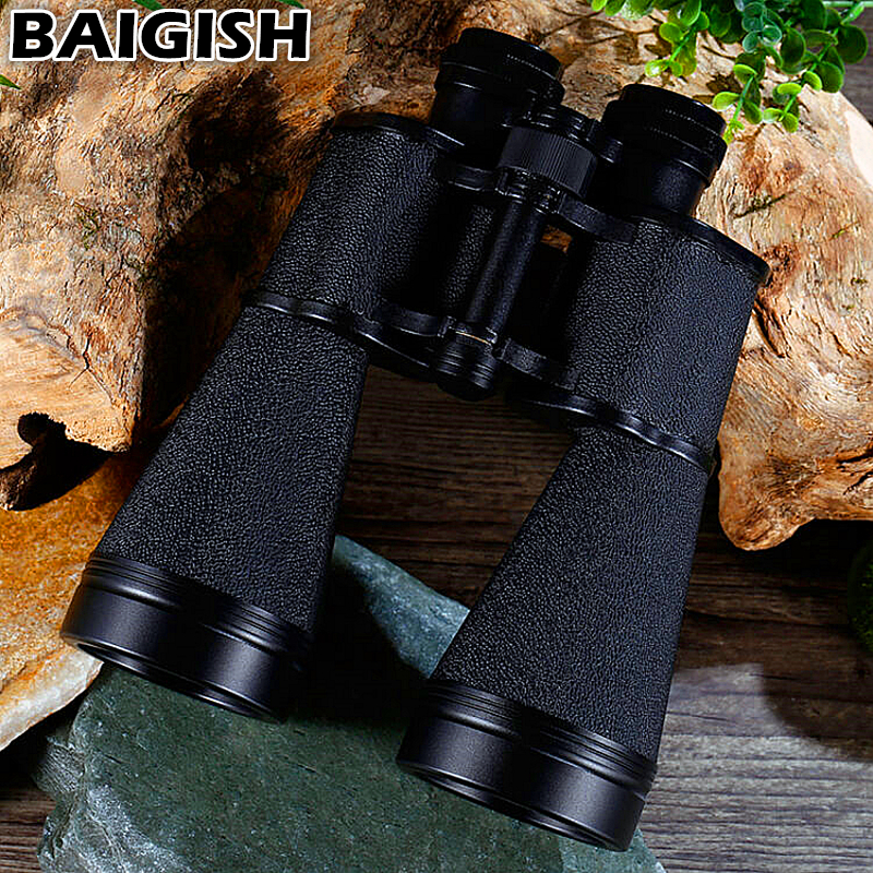 Baigish 15x60 Russian Binoculars Military Binocular High Quality Powerful Telescope Lll Night Vision For Hunting Sporting Best in Spotting Scopes from Sports Entertainment