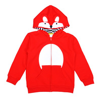 Fox Baby Girls Boys Hoodies Long Sleeve Cartoon Animal Baby Girl Sweatshirts Spring Fall Style Baby