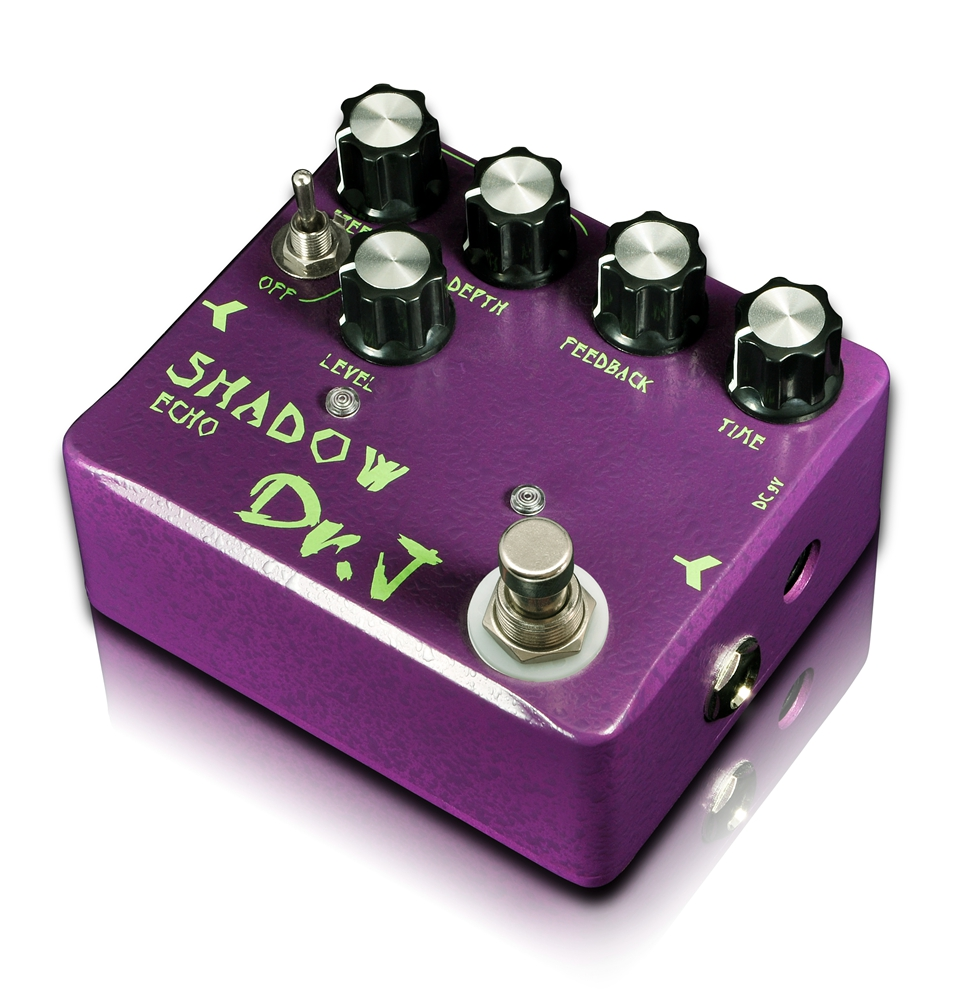 Joyo Dr. J Shadow Echo Hand Made Analog Delay Echo Electric Guitar Effect Pedal efeito True Bypass D-54 dr j d55 aerolite compressor hand made electric guitar effect pedal true bypass guitar accessory