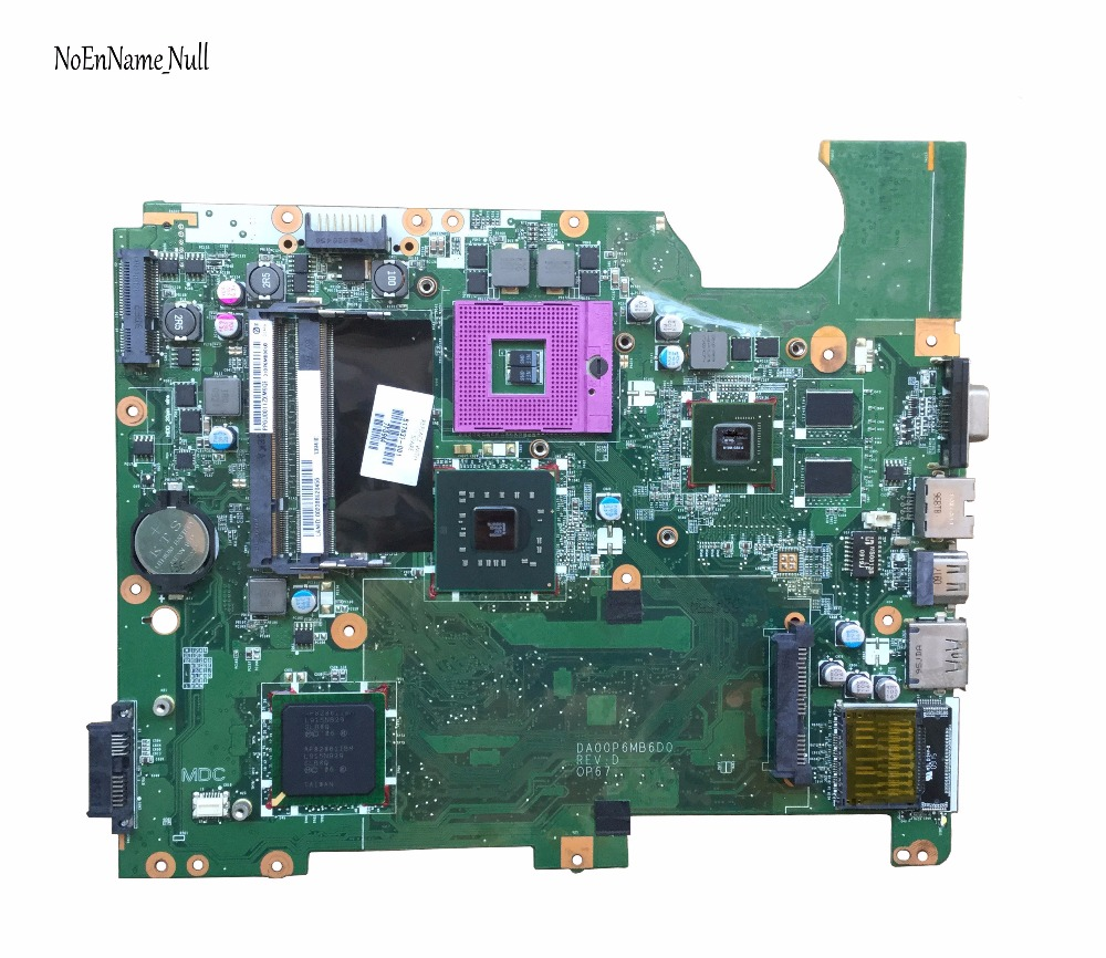 For HP Compaq Presario CQ61 G61 Motherboard 517837-001 Laptop Motherboard DA00P6MB6D0 PM45 Chipset Free Shipping