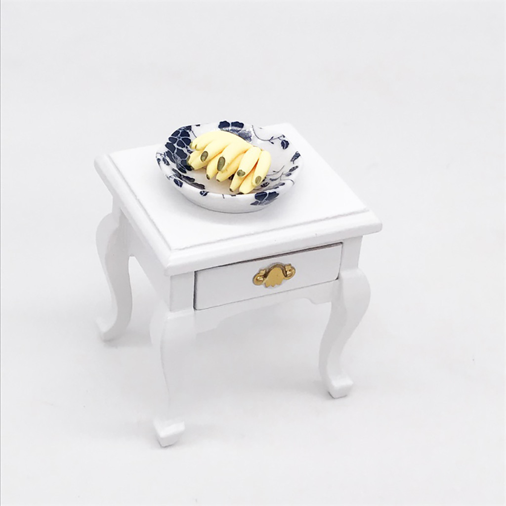 1/12 Mini Dollhouse Furniture Cabinet Miniature Living RoomTable Kids Toy new arrival
