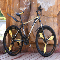 Mountain Bicycle 26 Inch One Wheel Male Off road Adult Speed Road Bike Female Aluminum Alloy Wire Pull Disc Brake