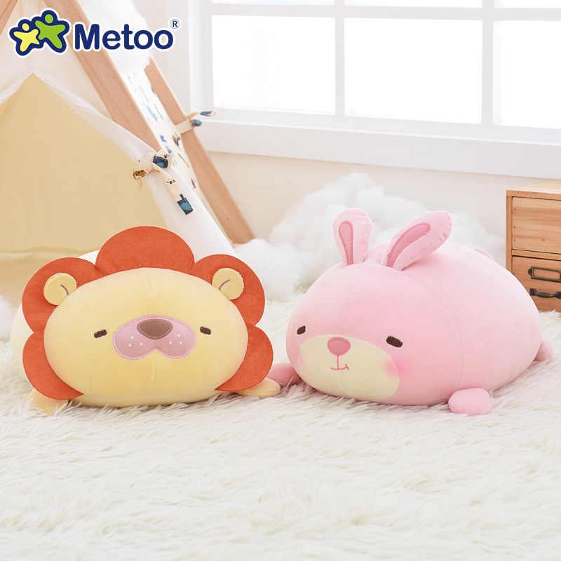 34cm Kawaii Baby Cartoon Bear Plush Toys Kids Stuffed Cushion Pillow Infants Cute Lion Doll Boys Girls Lovely Gifts Newborn Toys