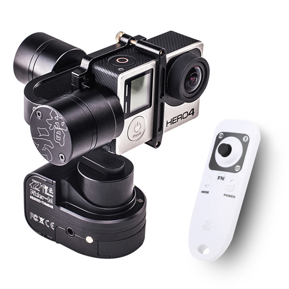 Zhiyun Z1 Rider M Support APP Wireless Remote Wearable Camera Gimbal WG Stabilizer with Remote for GoPro 5 Hero 3+4 F16639-A