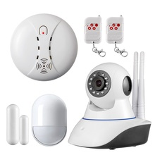 Double antenna Camera wireless IP camera WIFI Megapixel 720p HD Wireless Digital Security Camera Alarm Systems home Sensor Alarm