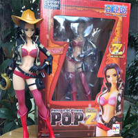 1pc/lot Nico Robin 9'' Anime One Piece Film Z POP Action Figure PVC Sexy Girl Toy For Kids Collection Model Figures 24cm