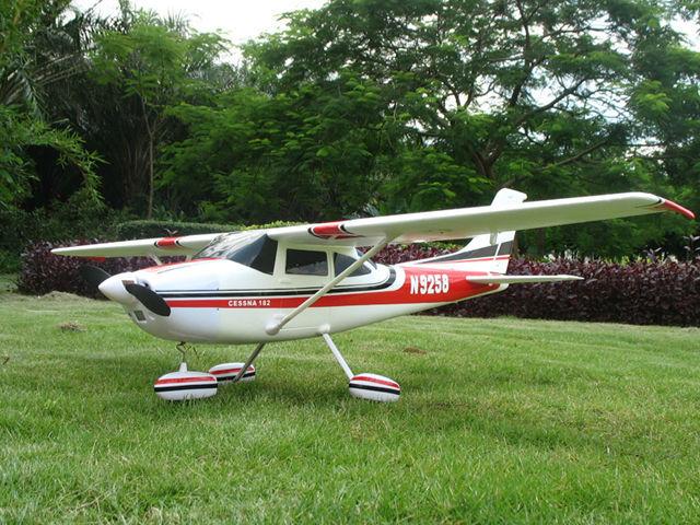 Без батареи, RC модель самолета Cessna 182 epo RTF+ адаптер