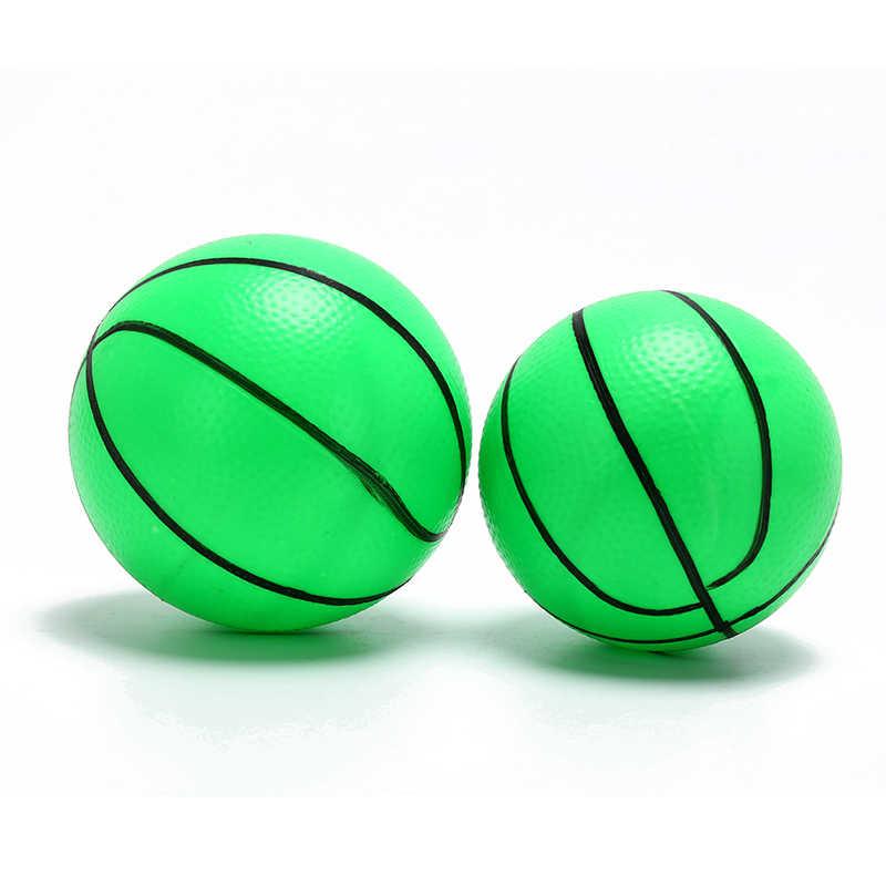 12cm מתנפח PVC כדורסל כדורעף חוף כדור ילד מבוגר ספורט צעצוע אקראי צבע 1 PCS
