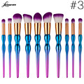 Gorgeous Makeup Brush Set Professional Kabuki Makeup Brushes Foundation Blusher Face Powder Brush Cosmetic Make Up Brush M03117