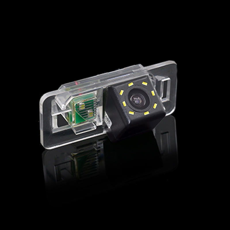 For Sony CCD BMW 3 M3 E46 CSL E90 E91 E92 E82 E88 E39 E60 E60N Car Back Up Reverse Rear View Parking Cam Camera HD with LED