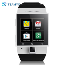 Teamyo S55 Bluetooth GPS Smart Uhr 1,54 zoll 2,0 Mt kamera Unterstützung 2G/3G Wifi SIM karte armbanduhr für Android Phone Smartwatch