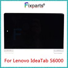 NEW 10.1 inch For Lenovo IdeaTab S6000 LCD Display Touch Screen Digitizer Assembly with Frame Replacment For Lenovo S6000 LCD 8 inch for lenovo yoga 8 b6000 lcd display screen with touch screen digitizer assembly full sets