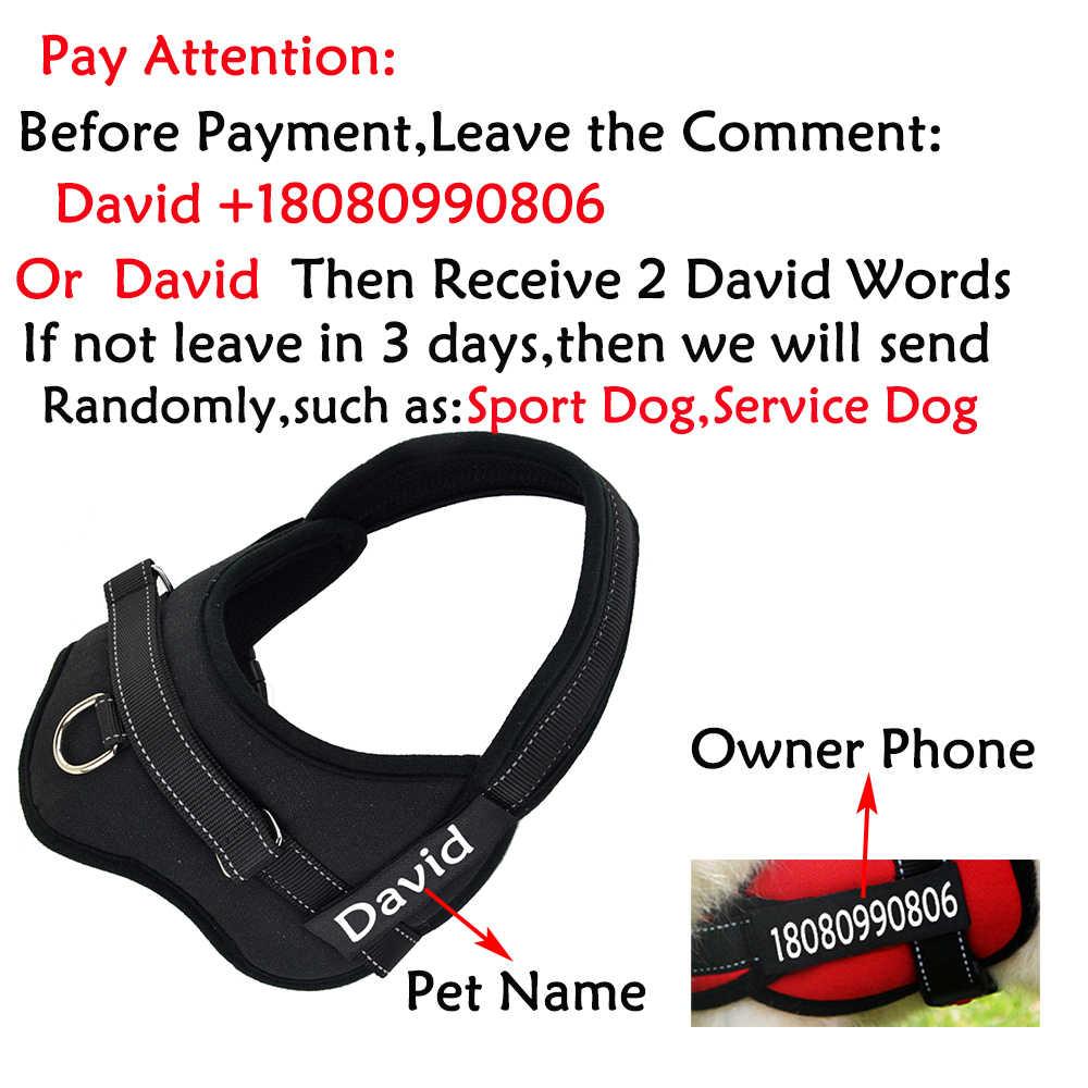 ¡Nuevo producto! arnés de perro mediano y grande con protección antirreflejos, arnés para mascotas y perros a prueba de explosiones