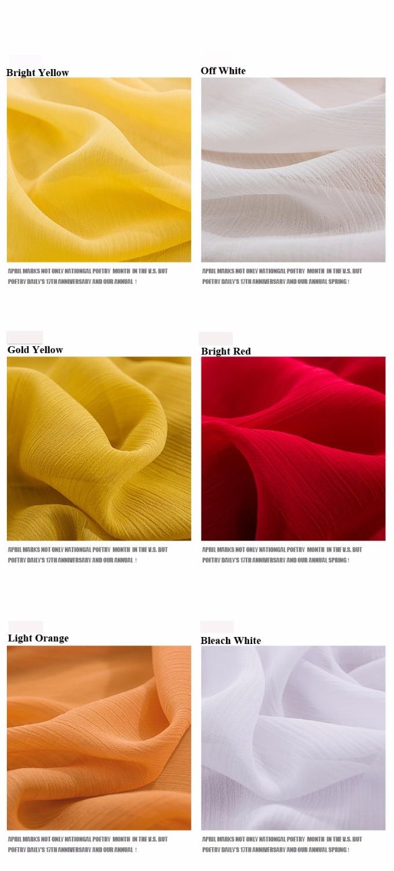 2018 Penawaran Nyata Nyata Dicelup 21 Warna Fashionable 75D 100% - Seni, kerajinan dan menjahit - Foto 3