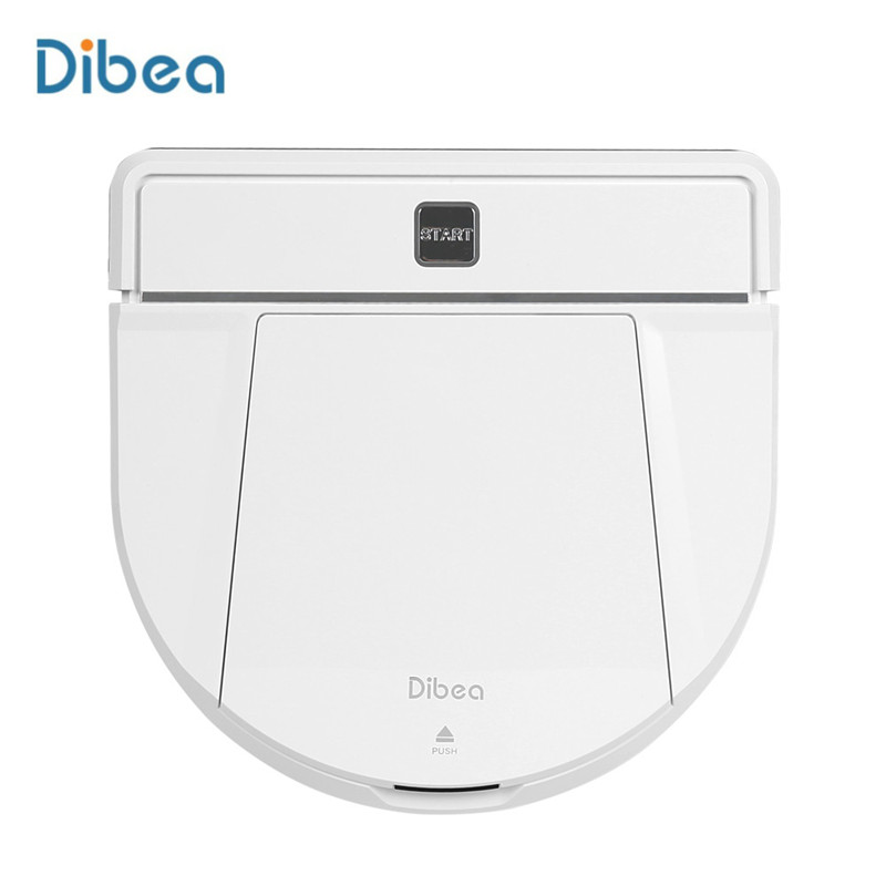 Dibea D850 1200Pa 30W Home Appliances Robot Vacuum Cleaner For Home Smart Dust Cleaning Sweeper Dust Collector Wet Dry Mopping недорого