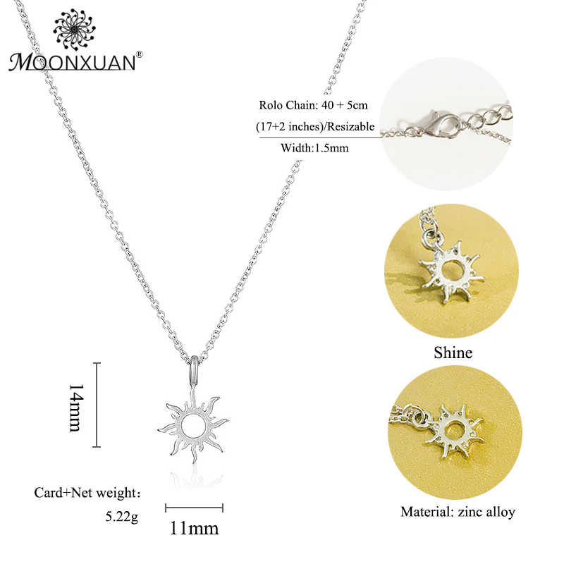 d122223060a777 ... Dogeared Sun Choker Gold Statement Necklace Jewelry Chain Women  Collares Colar Kolye Collier Ketting Charms Good ...