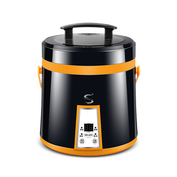 110V 1.6L rice cooker portable student cooker  lunch warmer  electric lunch box  steam cooker  mini rice cooker  soup container