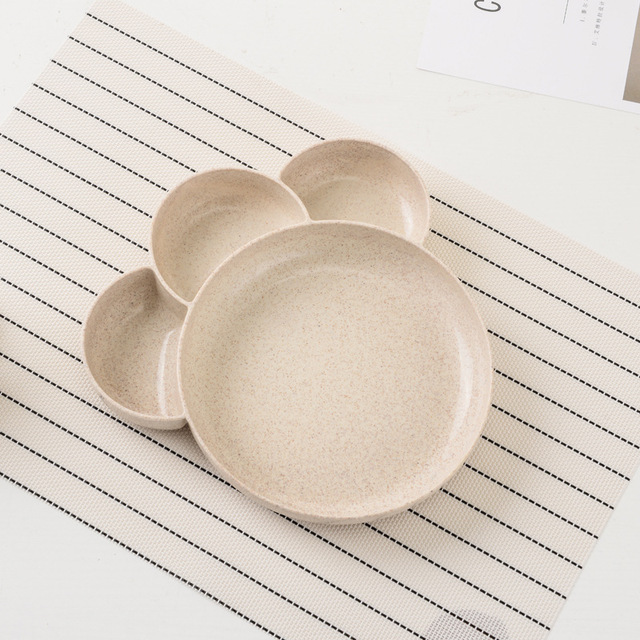 Children's Cartoon Paw Shaped Plate