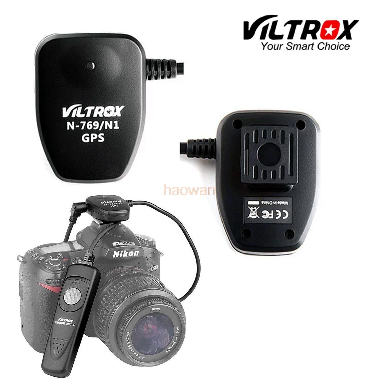 N1 Ricevitore GPS + Rilascio di Otturatore per Nikon D700 D300 D300S D200 D3X D3S d4 d2 d5 D800 D800E d810 macchina fotografica