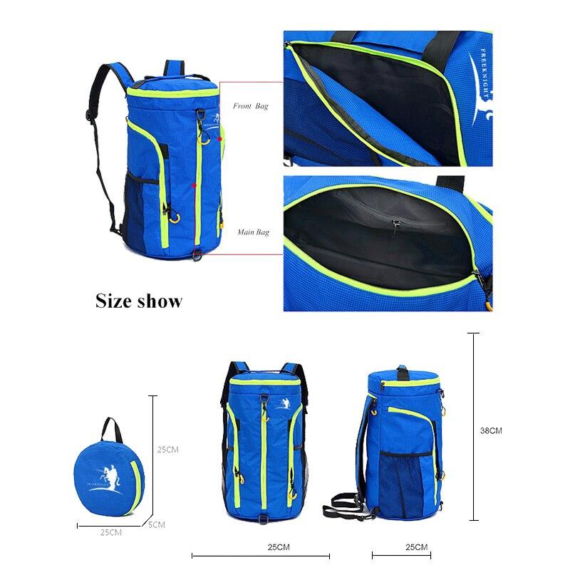 Φορητό πολυλειτουργικό αδιάβροχο - Αθλητικές τσάντες - Φωτογραφία 5