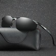 Brand Polarized Sunglasses Men's Glasses Male Driver Driving Glasses Aluminum Magnesium Sun Glasses Fashion Eyewear Accessories стоимость
