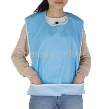 Waterproof Adult Mealtime Bib Protector Disability Aid Apron - Sky Blue