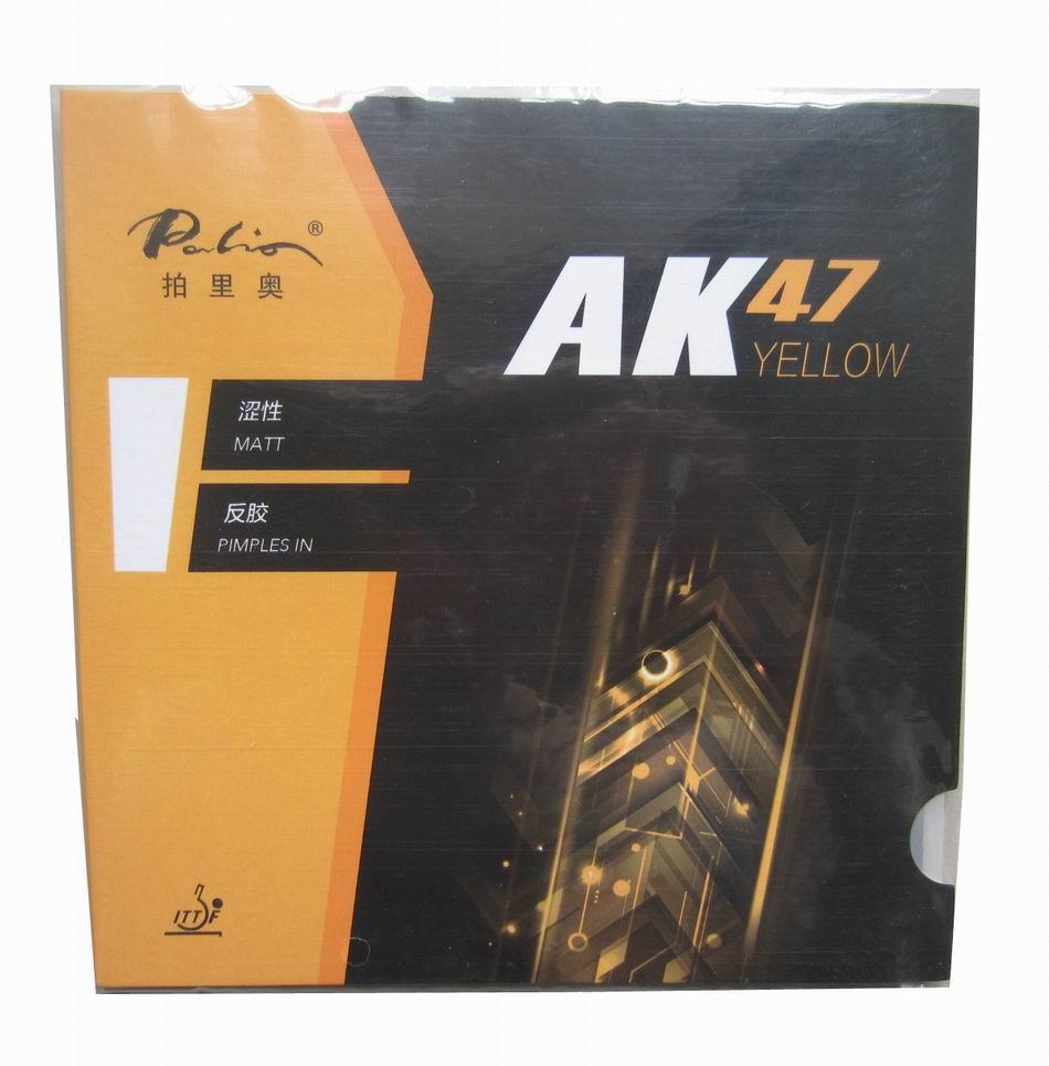 Originele Palio 40 + tafeltennisrubber AK 47 en HK1997 goud - Sportrackets - Foto 4
