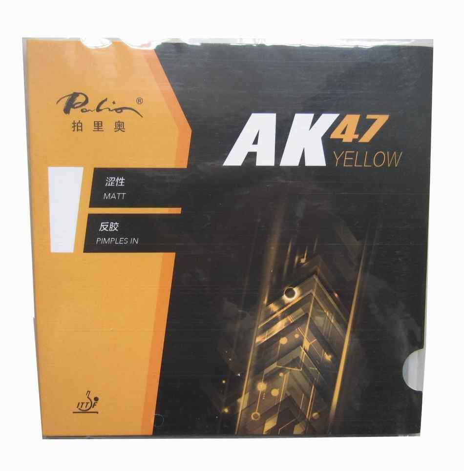 Original Palio 40+ table tennis rubber AK 47 and HK1997 gold colorful sponge table tennis rackets racquet sports pingpong rubber