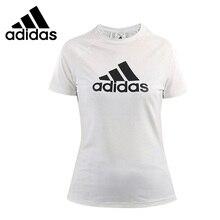 6cd203ecb9bdb Original nueva llegada Adidas D2M LOGO TEE de las mujeres camisetas de  manga corta ropa deportiva