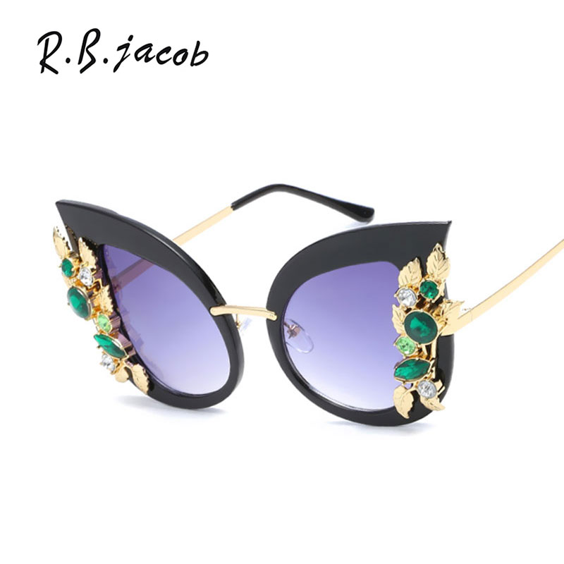 2017 Summer New Style Women Sunglasses Cat Eye Fashion Colorful Gorgeous Designed Female Sun Glasses Special Vintage Eyewear Hot