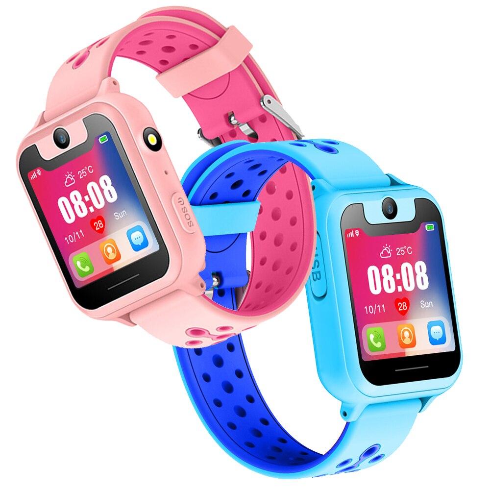 En gros 2019 nouvelle montre intelligente localisateur Tracker Anti-perte de sécurité SOS LBS bébé montre téléphone pour IOS Android enfants jouet cadeau - 2