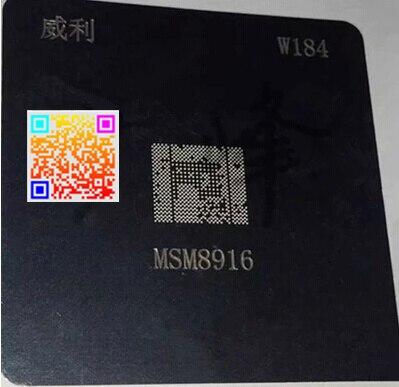 2 pcs/lot BGA Reball Pochoir pour CPU MSM8916 MSM8939 MSM8216