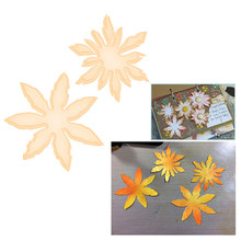 Eastshape Leaves Metal Cutting Dies for Scrapbooking Card Making DIY Embossing Cuts New Craft Flower Decoration
