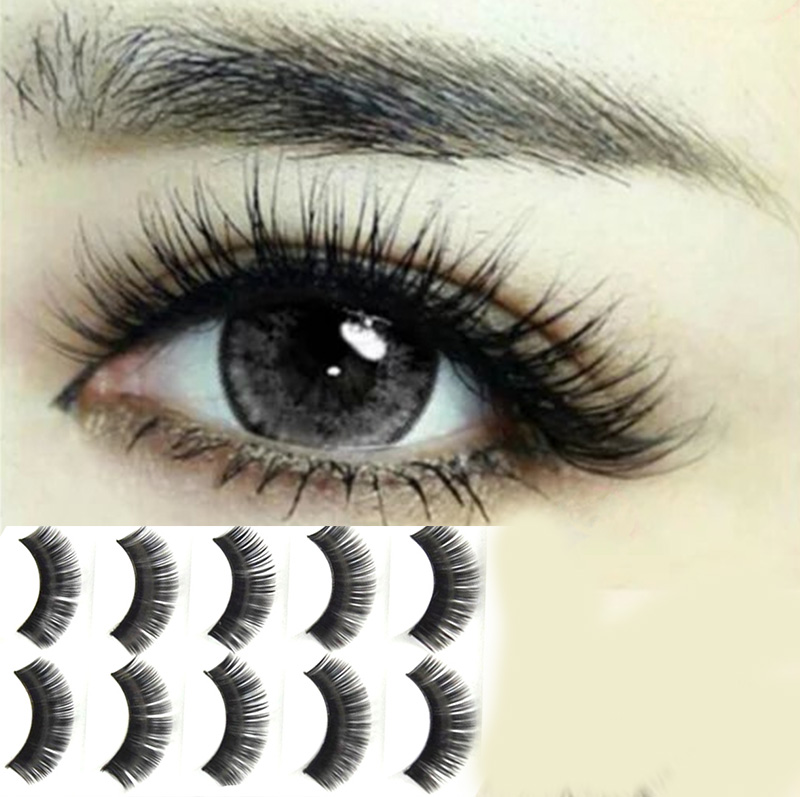 New Arrival Beautiful Natural Eyelashes False Eye Lashes Makeup