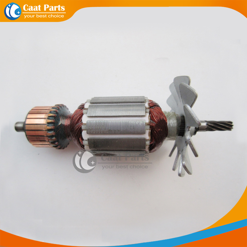 Free shipping!  AC 220V 8-Teeth Drive Shaft Electric Hammer Armature Rotor for Hitachi D6SH, High quality ! free shipping replacement hammer intermediate shaft spline shaft for bosch gbh2 24 gbh4dfe gbh4dsc hammer accessories