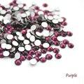 Супер Блестящие SS3-SS34 Фиолетовый Опал Цвет 3D Nail Art Декорация Блеск Номера Исправлениях Flatback Стразы Стразы Камни