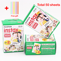 Genuine 50 Sheets White Fuji Instax Film Fujifilm Instax Mini 8 Film For 8 50s 7s 90 25  Share SP-1 Instant Cameras