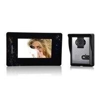 (1 bộ) 1-1 Home sử dụng door chuông với camera giám sát không thấm nước kiểm soát truy cập cửa Video intercom 7 inch bảng điều chỉnh